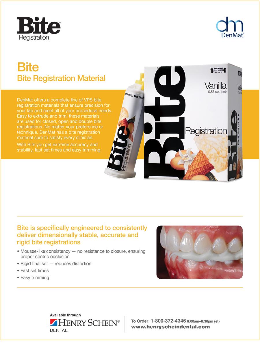 Bite Bite Registration Material