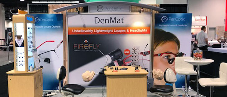 Find DenMat's booth at the following Trade Shows
