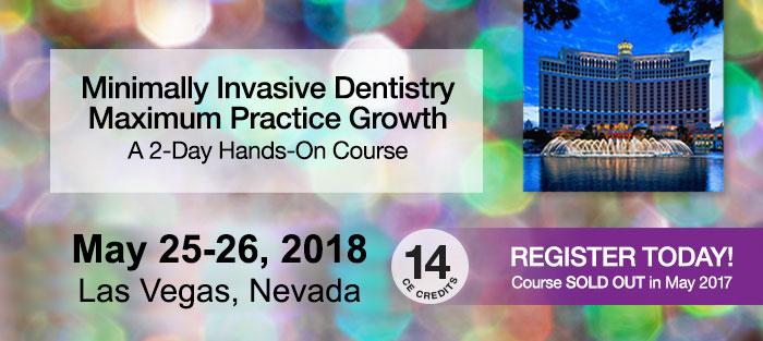 Minimally Invasive Dentistry Maximum Practice Growth