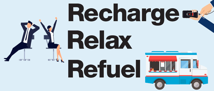 Recharge - Relax - Refuel